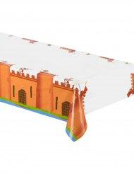 Bordsduk av plast med medeltidsmotiv 130x180 cm