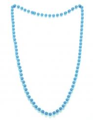 Blå pärlhalsband vuxen