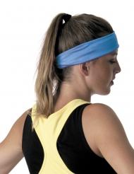 Blått pannband till aerobics looken - 80-talstillbehör