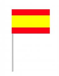 Pappersflagga Spanien 14x21 cm