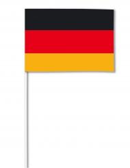 Tysk flagga - Supporterprykar 14 x 21 cm