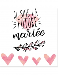 Tillfälliga tatieringar future mariée 80 mm