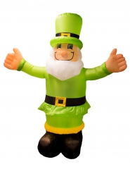 Uppblåsbar Leprechaun 180 cm - St. Paddy
