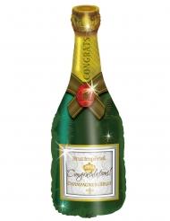 Aluminiumballong Champagneflaska 94 cm