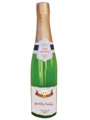Uppblåsbar champagneflaska 76 cm