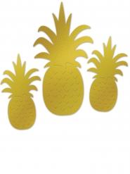 3 Ananasfrukter - Partydekor