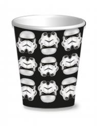 8 kartongmuggar med Stormtroopers™ 250 ml