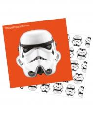 16 Stormtrooper™ servetter 33 x 33