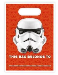 6 kalaspåsar med Stormtroopers™ 16,5 x 23 cm