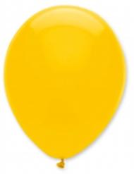 6 ballong mörkgul 30 cm