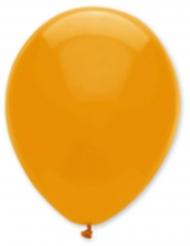 6 Ballonger i oranget 30 cm - Halloweendekor