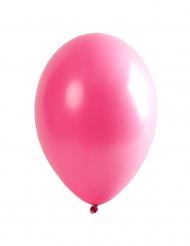 6 rosa ballonger till festen 30 cm
