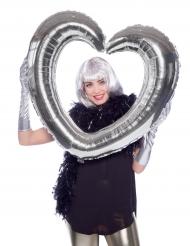 Hjärtformad ballong till Photobooth