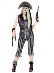 Spökpirat - Halloweenkläder för vuxna