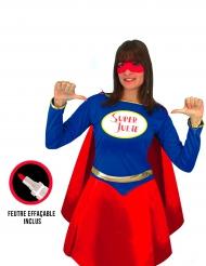 Justerbar superhjältedräkt dam