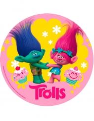 Tårtbild från Trolls™ 20 cm