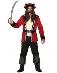 Piratkaptenen Putte herrdräkt
