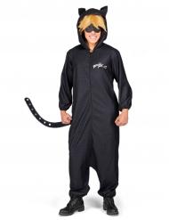 Cat Noir™ overall från Miraculous™ för vuxna