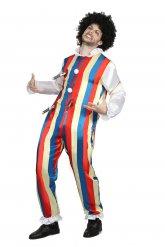 Knivhuggen clown - Halloweenkläder för vuxna
