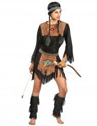 Ylande koyot - Indiandräkt för vuxna till maskeraden