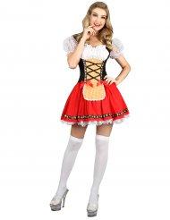 Folkdräkt med inspiration från Bayern - Oktoberfestkläder för vuxna