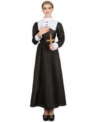 Syndfri syster - Nunnedräkt för vuxna till maskeraden