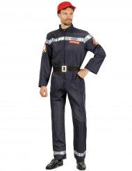 Modig brandman - Maskeradkläder för vuxna