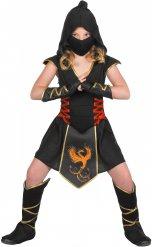 Fenix Fighter - Ninjadräkt för barn till kalaset