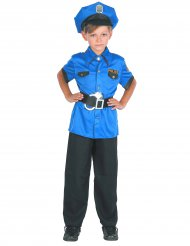 Präktig polis - Maskeradkläder för barn