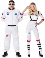 Astronauter pardräkt vuxen