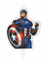 Captain America™ - Tårtljus till kalaset