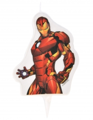 Avengers™ Iron Man™ födelsedagsljus 6x7,3 cm