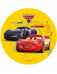 Tårtbild från Bilar 3™ med tryck av McQueen och Storm 14,5 c,