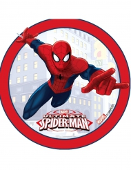 Tårtbild - Ultimate Spiderman 14,5 cm