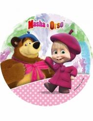 Tårtbild från Masha och björnen™ till kalaset