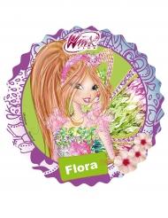 Tårtbild - Flora från Winx™ 21 cm