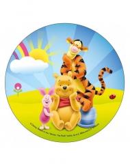 Tårtbild av Nalle Puh™ och hans vänner 21 cm