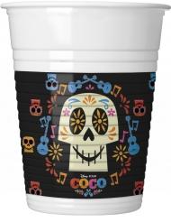 8 plastmuggar från Coco™ 200ml