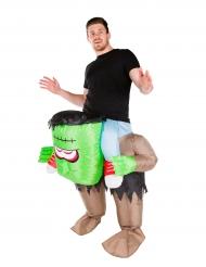 Frenkensteins uppblåsbara monster - Halloweenkostym för vuxna