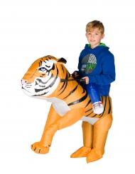 Jag & Tigern - Uppblåsbar maskeraddräkt för barn