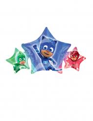 Aluminiumballong från Pyjamashjältarna™ i stjärnformat