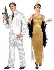 Herr & Fru Gatsby - Pardräkt för vuxna i 20-talsstil
