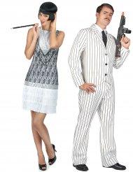 Herr & Fru Baker - Pardräkt för vuxna i 20-talsstil