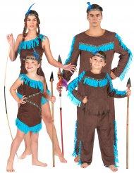 Indianstam - Gruppdräkt för vuxna och barn