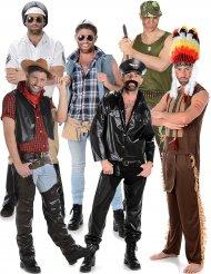 80-tals popgrupp - Gruppdräkt för vuxna till maskeraden