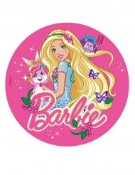 Barbie™ med fjärilar - Tårtbild till kalaset