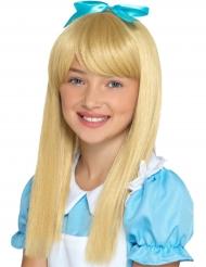 Underbar blond prinsessperuk barn