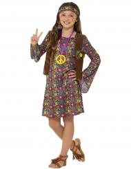 Hippieklänning och prydnader i barnstorlek
