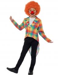 Clownens fräcka frack - Maskeradkläder för barn