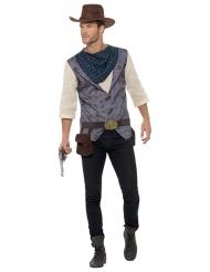 Lyxig cowboy-herrdräkt